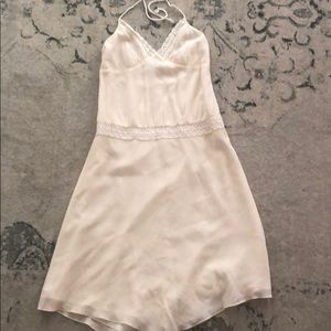 Banana Republic White Halter Dress - NWT